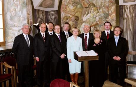 Pažangos manifesto pasirašymas 2006 m. kovo 2 d.
