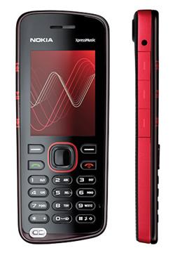 Mobilieji telefonai NOKIA. Nokia-xpressmusic-5220