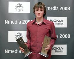 Interneto kategorijos nugalėtojas– Artūras Račas