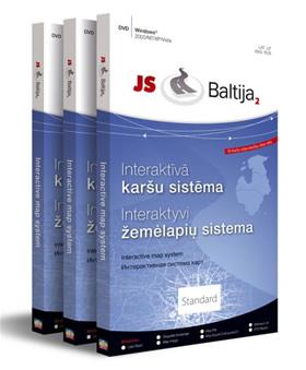 """Nauja interaktyvi Baltijos žemėlapių programa """"JS Baltija 2"""""""