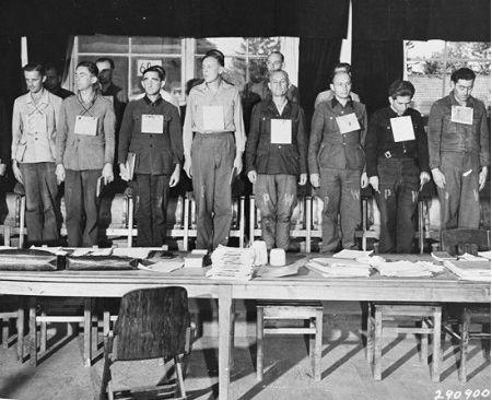 Kaltinamieji karo nusikaltimais 1947 metų teisme