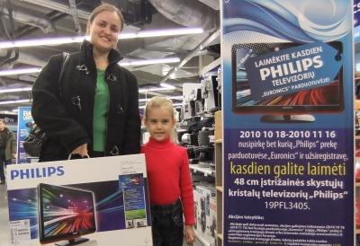 """""""Euronics"""" parduotuvėse – nemokami """"Philips"""" televizoriai"""