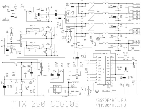 Patobulintas ATX  maitinimas nuo 12 V