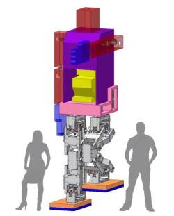 Japonai ėmėsi 4 metrų dydžio roboto humanoido