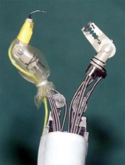 Krabą primenantis robotas išoperavo auglį be pjūvio