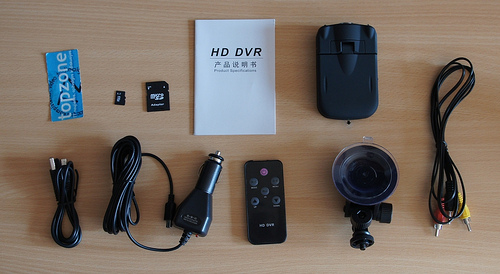 HD DVR / automobilinis kelionės registratorius