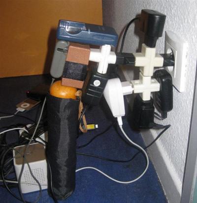 Kai elektros lizdų per maža – pagelbės šakotuvas(ai)