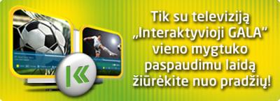 """Išmanioji televizija GALA su nauja paslauga """"Žiūrėti nuo pradžių"""" už 19,90 Lt/mėn."""