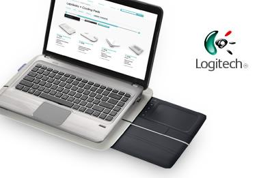 """""""Logitech Touch Lapdesk N600"""" padėkliukas nešiojamajam kompiuteriui"""
