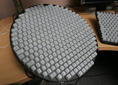 Kažkas suprojektavo tokią klaviatūrą kinams