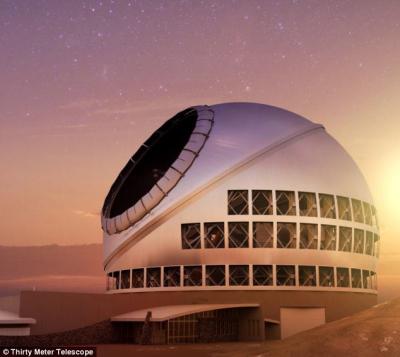 Didžiausias pasaulyje optinis teleskopas: 30 m skersmens veidrodis ir 13 mlrd. šviesmečių perspektyva