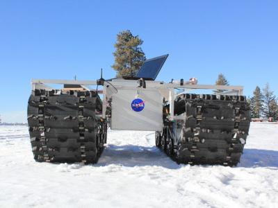 NASA moksliniams tyrimams į Grenlandiją siunčia robotą