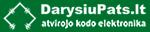 """DarysiuPats.lt – atvirojo kodo elektronika, """"Arduino"""", """"Raspberry Pi"""""""