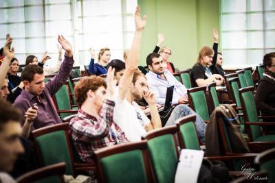 Studentai diskutavo apie aukštojo mokslo globalizaciją Europoje