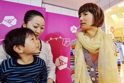 Japonijos prekybos centre pradėjo dirbti pardavėja robotė
