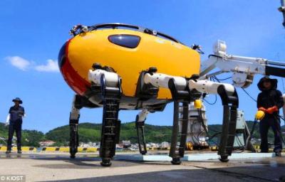 Robotai-krabai atskleis dar nepažintą povandeninį pasaulį