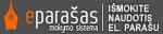 """""""EParašas"""" – elektroninio parašo mokymo sistema"""