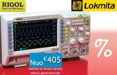 """""""Lokmita"""", UAB siūlo nepraleisti progos už itin patrauklią kainą įsigyti """"Rigol"""" prietaisus."""