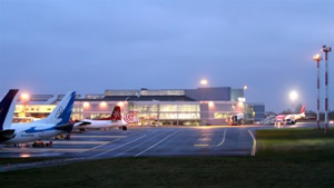 Vilniaus oro uoste įrengta funkcionali priešgaisrinė gelbėjimo stotis
