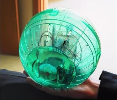 VGTU studentas sukūrė mobiliuoju telefonu valdomą robotą kamuolį
