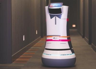"""Kupertino viešbučio """"Aloft"""" gyventojus aptarnaus robotai """"A.L.O. Botlrs"""""""