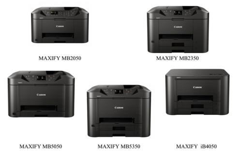 """""""Canon"""" išleidžia rašalinių verslo klasės spausdintuvų seriją, skirtą mažoms įmonėms"""