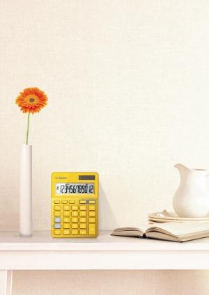 """Spalvingieji """"Canon"""" skaičiuotuvai pagyvins namų ir biurų aplinką"""