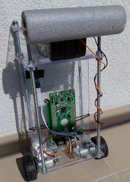 Balansuojantis robotas