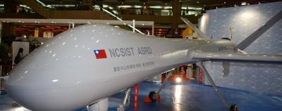 Taivanas pristatė didžiausią savo sukurtą droną