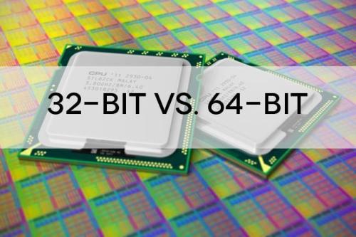Bitai ir baitai. Antra dalis: kada verta naudoti 64 bitų, o kada 32 bitų programinę įrangą