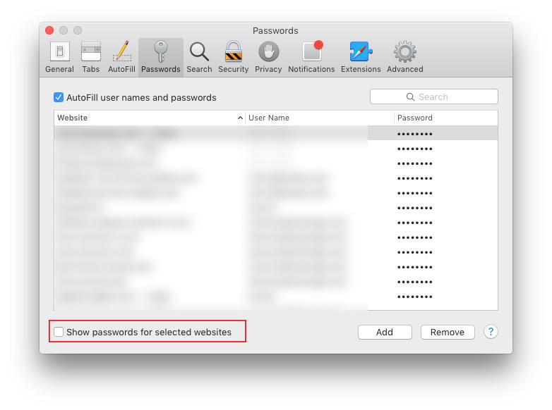 """Būdas """"prisiminti"""" slaptažodį """"OS X/macOS"""""""