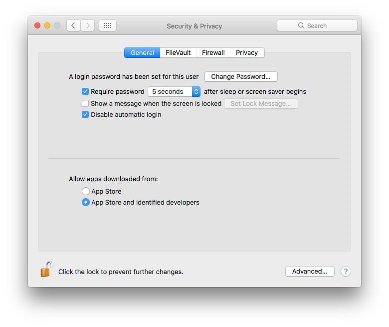 """Kaip """"macOS Sierra"""" grąžinti galimybę įdiegti programas iš bet kur"""