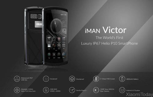 """""""iMAN Victor"""": naujoji atspariųjų telefonų rinkos žvaigždė?"""