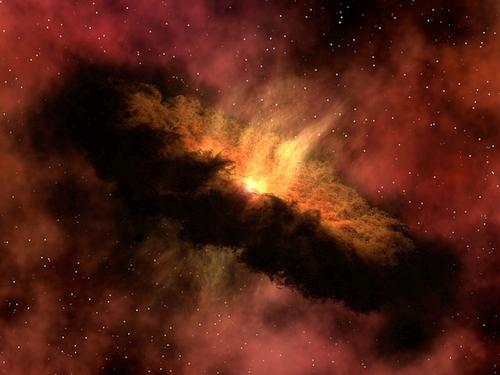 Mokslininkai jaunose galaktikose pasigedo tamsiosios materijos