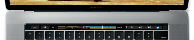 """Kaip """"Touch Bar"""" išmokyti dirbti su visomis """"Mac"""" programomis"""