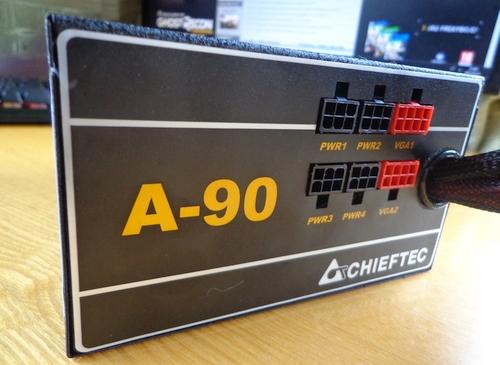"""Geras 650 W """"80+ Gold"""" maitinimo blokas vos už 74 € –  """"Chieftec A90"""" apžvalga"""