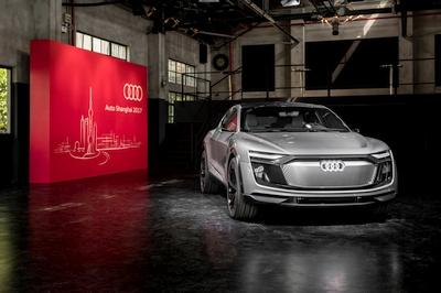 """Šanchajuje bus pristatytas konceptas """"Audi e-tron Sportback"""""""