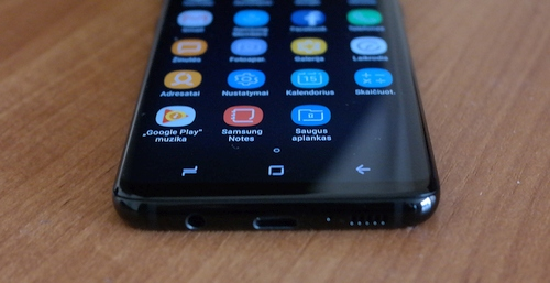 """""""Samsung Galaxy S8"""" apžvalga: išmanusis iš kitos galaktikos?"""
