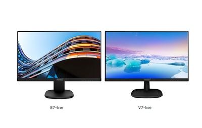 """Pristatyti  """"Philips"""" """"S-line"""" ir """"V-line"""" serijų monitoriai"""