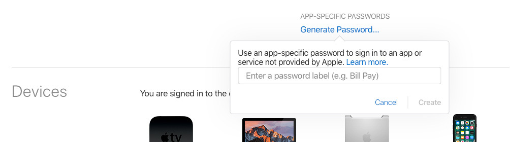 """Kaip susikurti unikalų """"iCloud"""" duomenis naudojančios programos slaptažodį"""