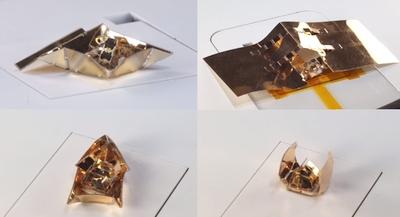 Robotų origami –  mažytis robotas apsivelka vis naują korpusą