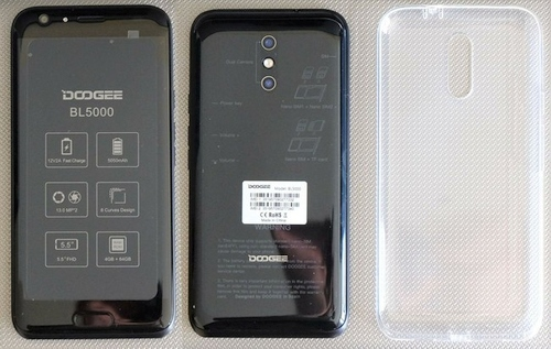"""Doogee BL5000"": talpi baterija, nepriekaištingas dizainas, o kaina per maža?"