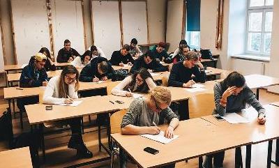 400 Lietuvos studentų sudalyvavo akademiniame išbandyme