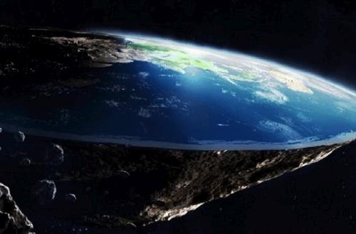 Vyras savadarbe raketa bandys įrodyti, kad Žemė plokščia
