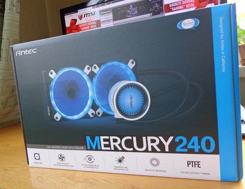"""Parsidavęs švieselių manijai: """"Antec Mercury 240"""" aušinimo skysčiu apžvalga"""