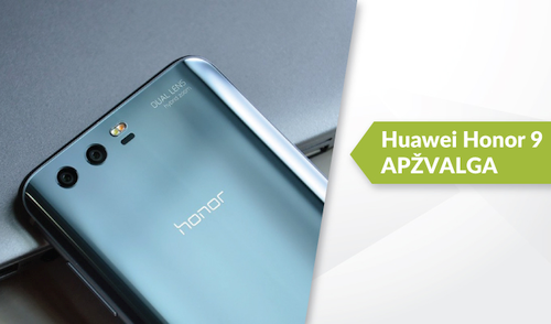 """Huawei Honor 9"" apžvalga"