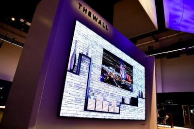 """""""Samsung"""" pristatė beveik 4 metrų įstrižainės televizorių"""