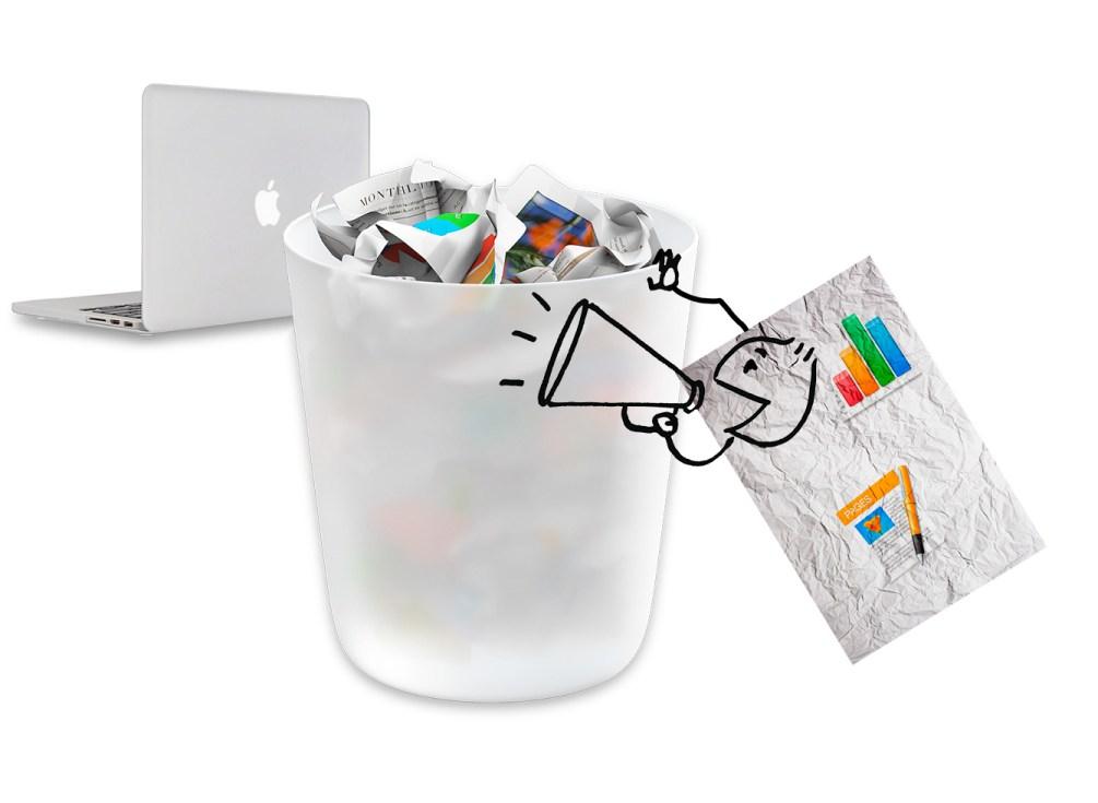 """Jei negalite ištrinti failo iš """"macOS"""" šiukšlinės"""