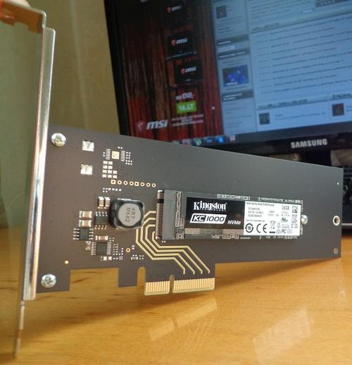 """Kai neturėdamas M.2 jungties nori greito SSD: """"Kingston KC1000"""" apžvalga"""