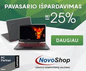 """Pavasarinis """"Lenovo"""" kompiuterių išpardavimas"""